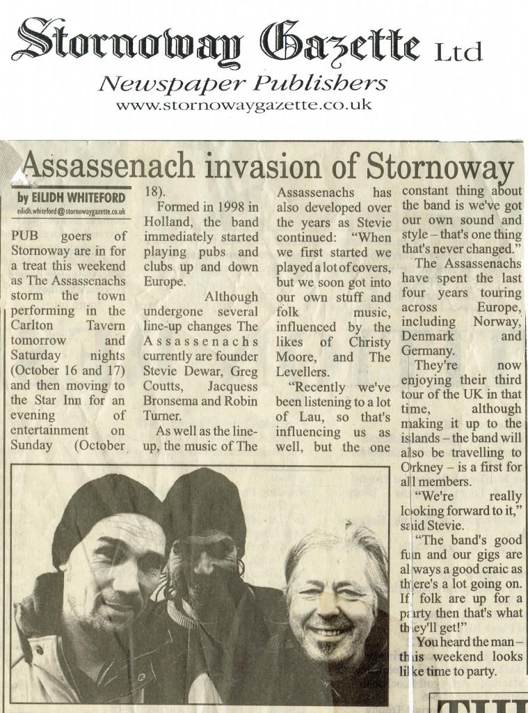 stornoway gazette
